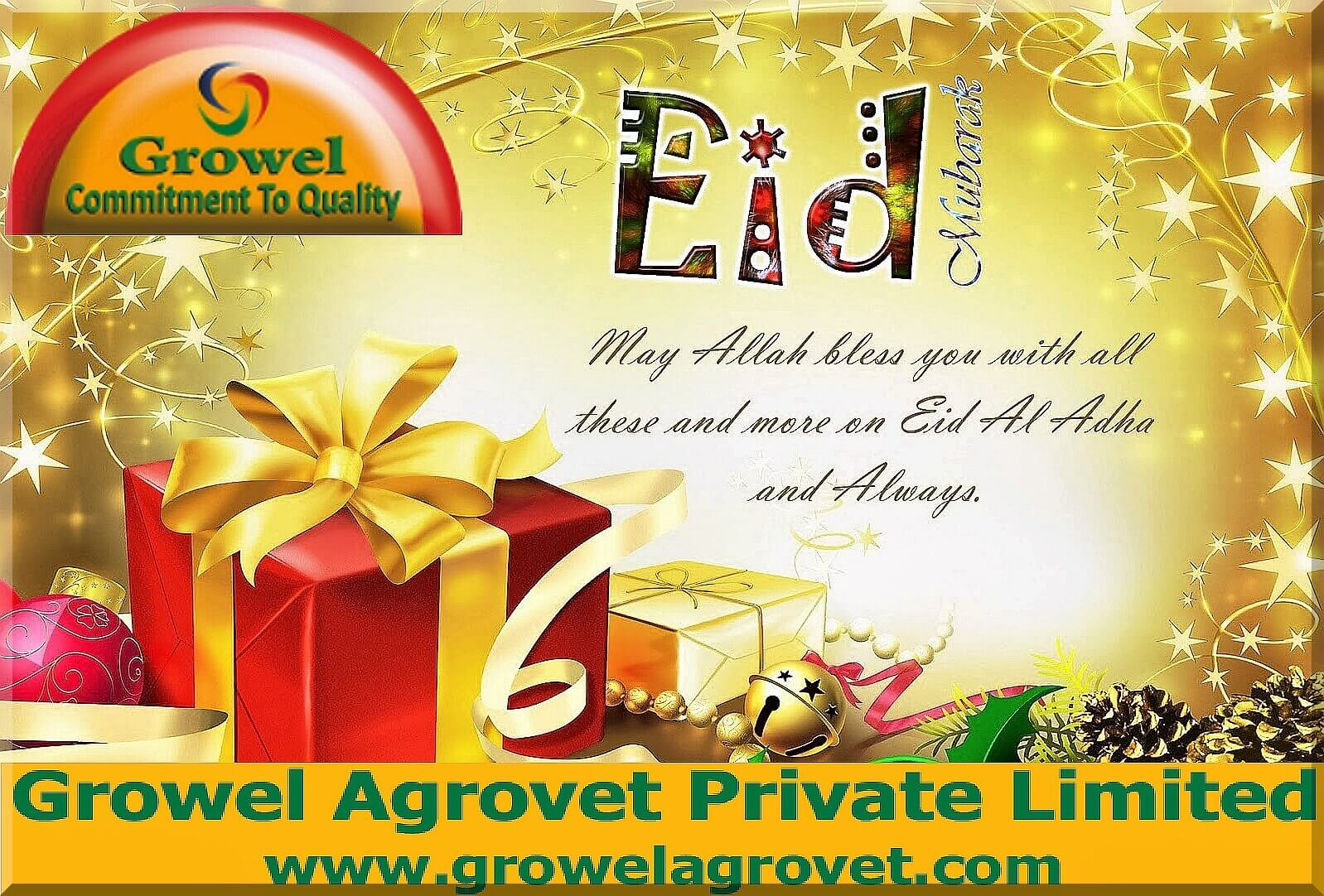 Eid Mubarak,Growel Agrovet Private Limited