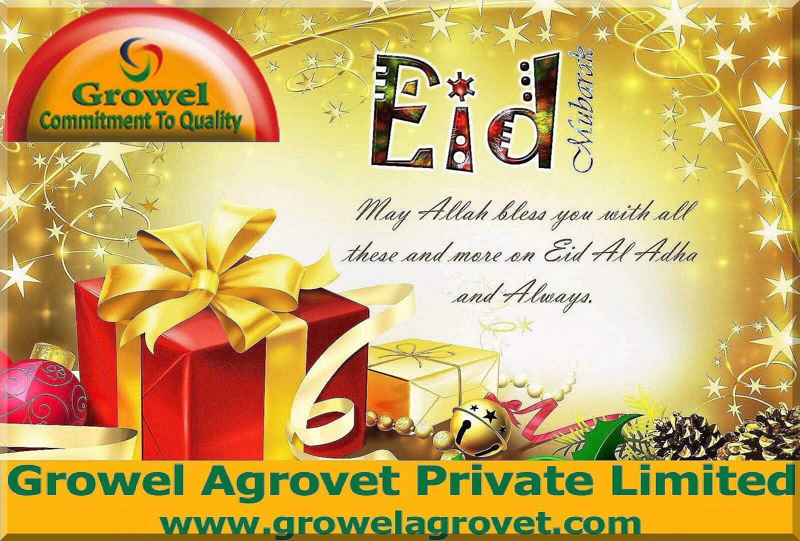 Eid Mubarak,Growel Agrovet Private Limited