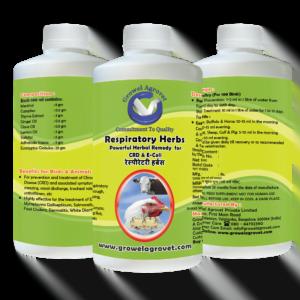 Respiratory Herbs- CRD -E-Coli Medicine